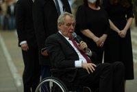 Zeman není schopný funkce prezidenta, tvrdí senátní výbor a chce ho sesadit. Ovčáček hrozí paragrafy
