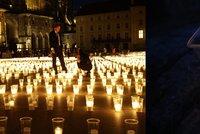 Zemanova pieta za oběti covidu: 30 tisíc svíček zkroutilo kelímky od piva