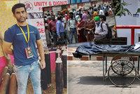 """Covid mu vzal blízké. Potřebným ve zdecimované Indii pomáhá """"kyslíkový muž"""""""