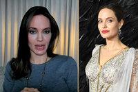 Vzhled Angeliny Jolie znovu budí obavy! Místo tváří porcelánové talíře