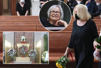 Marta Kubišová utekla z pohřbu Ivana Havla (†82): Podezření na infarkt!