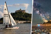 Práce snů na ostrově u britského pobřeží: Středověký hrad hledá svého správce, který netrpí mořskou nemocí!