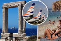 Řecko otevřelo turistům, vyhlíží i Čechy. Smartwings vypraví první spoje v sobotu