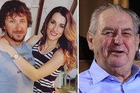 Manžel missky Křížkové David jde do vězení: Milost od prezidenta nebude!