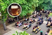 Zahrádky otevírají: 15 tipů, kam v Praze zajít na pivo! Restaurace lákají na hokej i speciální menu