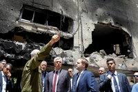 Kulhánek si v Izraeli prohlédl místo dopadu rakety Hamásu. A dostal školení o Iron Domu
