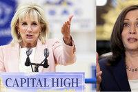 """První dáma Bidenová poslala viceprezidentku Harrisovou do """"p*dele"""", tvrdí nová kniha"""