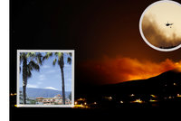 Po Řecku je požár i na Kanárech a Tenerife ve stavu nouze. Jak dopadli čeští turisté?