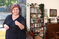 Jak bydlí zpěvačka Hanka Křížková? Útulná secese a knihy všude!
