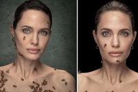 Angelina Jolie jako včelí královna?! Neuvěříte, kolik schytala žihadel