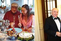 Felix Slováček o 78. narozeninách: Sladké překvapení od (ex)milenky! A hned dvakrát