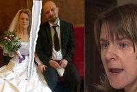 Tři měsíce po veselce rozvod? Lásce ukřičené Lucie z Výměny s odsouzeným vrahem odzvonilo!