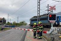 Tragická nehoda u Domažlic: Vlak usmrtil muže, mezinárodní doprava do Německa stojí