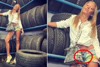 Agáta Hanychová si zapomněla zapnout mini šortky a trapas byl na světě!
