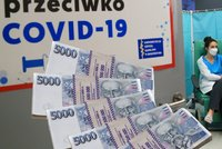 Miliony za očkování: Vláda se snaží přesvědčit Poláky k vakcinaci netradiční loterií