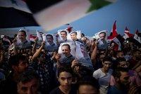 Asad slaví další triumf. Ve volbách získal drtivou výhru a mandát na sedm let, lidé slaví