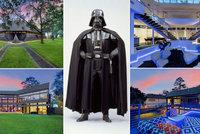 """""""Dům Dartha Vadera"""" z Hvězdných válek je na prodej: Sídlo zla za 90 milionů!"""