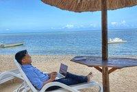 Home office od moře aneb pracovní prázdniny. Ráj Čechů hlásí nárůst pronájmů letních bytů