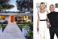Slavná moderátorka Ellen s partnerkou kšeftují s nemovitostmi: Bungalov koupily za 60 milionů!
