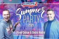 Rozjeďte letní party s Evropou 2, Pavlem Cejnarem, DJ Ondrayem, Miraiem, Pokáčem a dalšími