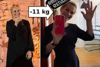 Rozchod Monice Absolonové vážně sekne! 11 kilo dole a pas jako vosa