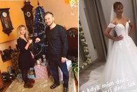 Tanečnice ze StarDance Lucie Hunčárová se bude vdávat! Ukázala se ve svatebních šatech