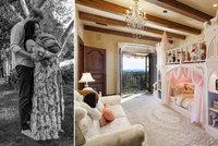 Dcera Harryho a Meghan Lilibet se zabydluje v luxusu: Růžovo-bílá pohádka i zámek pro princeznu!