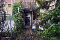 Požár u Stromovky: Hořící rozvodná skříňka popálila muže (68), skončil v nemocnici