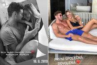 Veronika Kopřivová s partnerem slaví 2 roky vztahu: Pochlubili se sladkými vzpomínkami na své začátky!