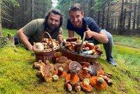 Dominik a Jirka našli přes 100 hříbků: Už brzy na houby nebude počasí!
