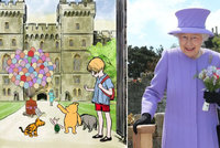 Královna Alžběta dostala úchvatný dárek od samotného Disneyho: Předal jí ho Medvídek Pú!