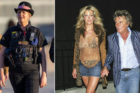 Na kontě má miliardy, a přece manželka slavného rockera dělá policistku! A zadarmo!