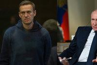 Putina rozzuřil dotaz na Navalného: Nemůžu zaručit, že ve vězení přežije, odsekl