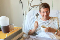 Moderátor Aleš Cibulka po operaci tlustého střeva: 4 dny mučení!