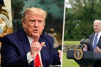 """""""Nevyhráli jsme."""" Trump poprvé po sedmi měsících připustil porážku. A plánuje comeback"""