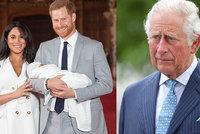 Na vzpurnost Harryho a Meghan doplatí i Archie: Princ Charles s vnukem nepočítá