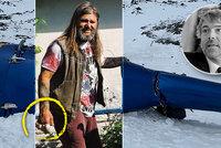 Jediný přeživší pádu helikoptéry s Kellnerem (†56) David Horváth: Boj o záchranu ruky!