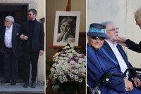 Pohřeb Niny Divíškové (†84): Zdrcený a statečný vdovec Jan Kačer dojemně nad rakví - o porodu i posledním přání