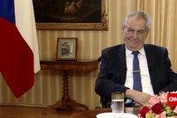 Zeman promluvil o tornádu na Hodonínsku. Připomněl ničivé povodně, s pomocí posílá dceru Kateřinu