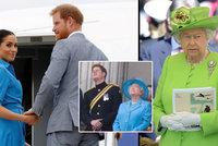 Královna nabídla Harrymu s Meghan podivný smír: Pozvání na akci, ne však na balkon?