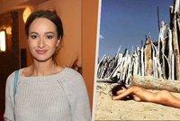 Ex mladého Polívky Krézlová provokuje z ráje: Úplně nahá mořská panna!