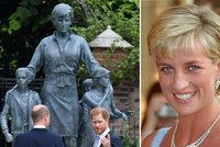 Tajemství nové sochy princezny Diany (†36)! Co má představovat? A jak se lidem líbí?