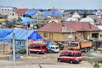 Mobilní domy jako šance pro lidi zasažené tornádem: Ve svých obcích chtějí zůstat i na opravy
