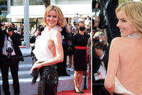 Neskutečně sexy Eva Herzigová na festivalu: Královna Cannes! Ukázala kus ňadra a celá záda