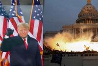 """Trump velebí krveprolití v Kapitolu: """"Mírumilovní patrioti předvedli svou lásku,"""" chválí útočníky"""