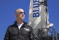 Miliardář Bezos odstartuje do vesmíru: Známe sedm klíčových informací o jeho letu