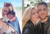 Dojemné vyznání pro Nikol Štíbrovou v šestinedělí: Jsi superhrdinka, rozplývá se manžel!