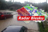 ONLINE: Povodně ničily sever Česka, řeky se zvedají i jinde. Bouřky nekončí, sledujte radar Blesku