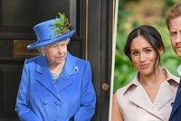Královna Alžběta II. trestá neposlušnost: Jasný zákaz pro Meghan a Harryho!