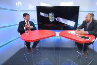 """Praha jako vesmírné ústředí EU. """"Investice se vrací až osmkrát,"""" říká kosmický ředitel"""